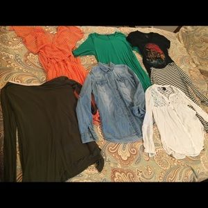 Tops - Multiple Shirts, Sweater, and Vest